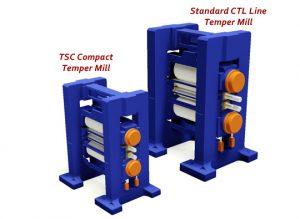 TSC compact mini temper mill