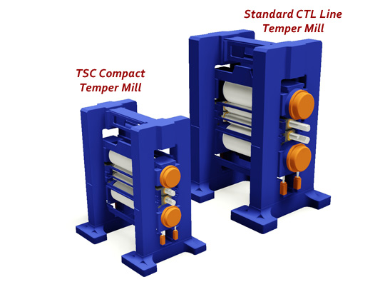 TSC compact mini temper mill